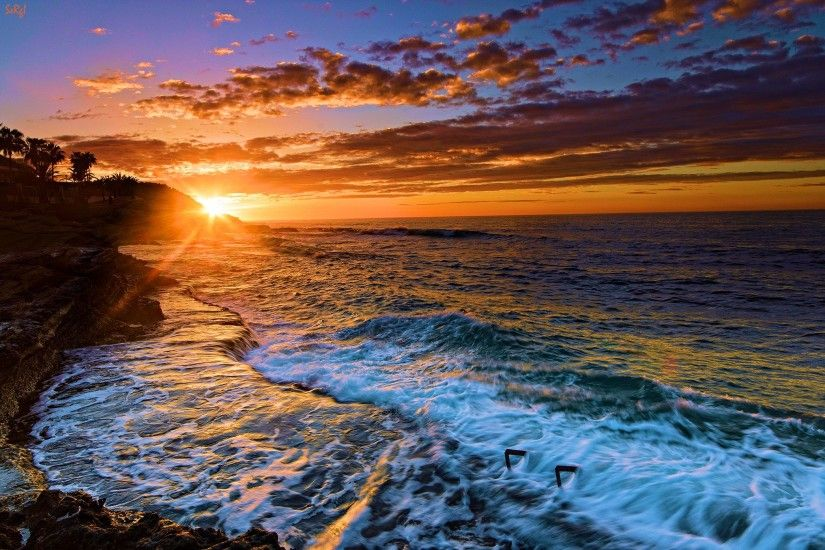 Beach Sunset Pictures Desktop Images & Pictures - Becuo