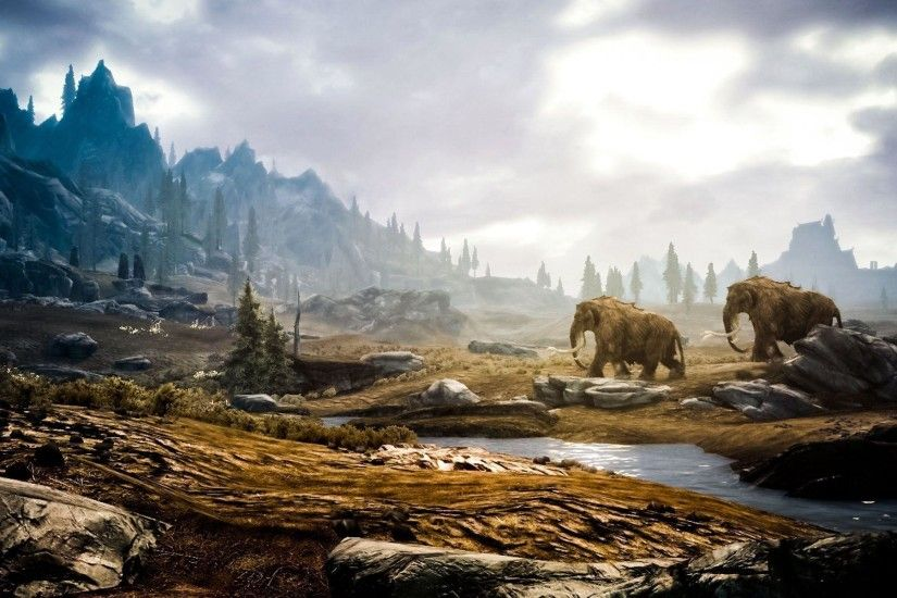 1920x1200 Skyrim Landscape Wallpaper Images & Pictures - Becuo