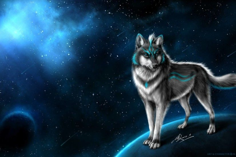 Cool Wolf Backgrounds 1