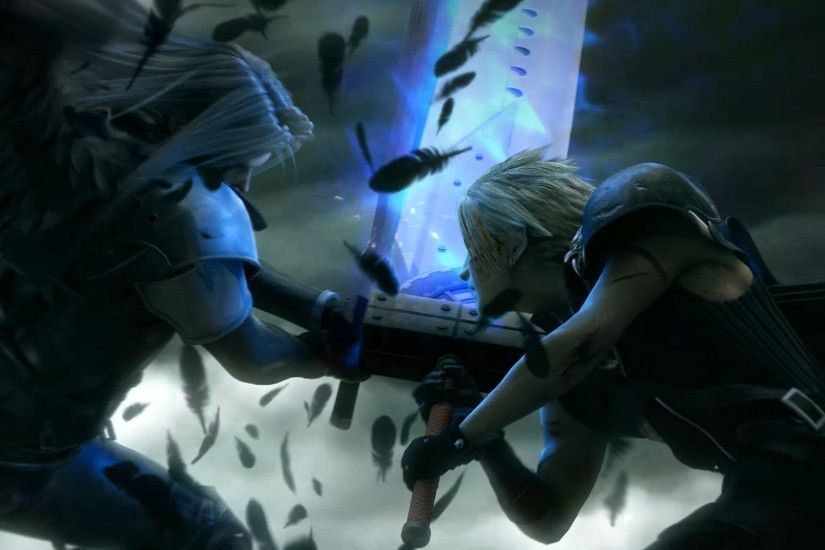 Final Fantasy - Cloud And Sephiroth