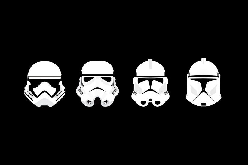 2560x1600 minimalism, Star Wars, Clone Trooper, Stormtrooper, Helmet  Wallpapers HD / Desktop