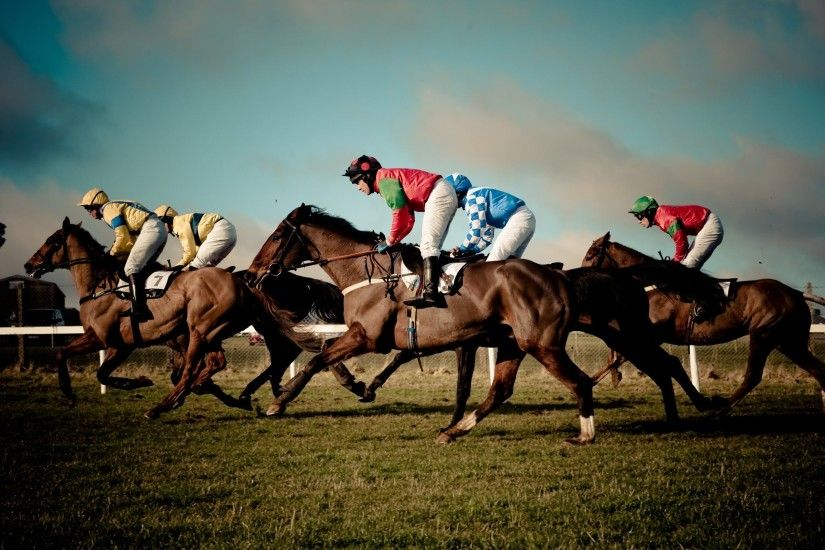 Horse Race Wallpaper
