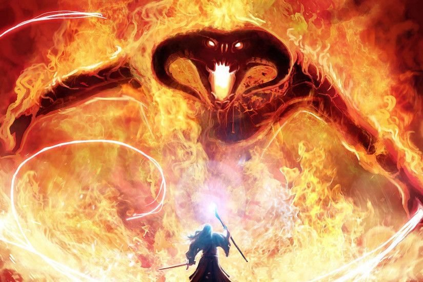 Photo Collection Balrog Wallpaper Image