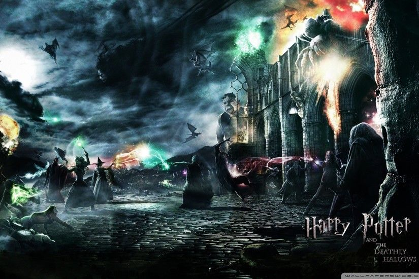 Harry Potter And The Deathly Hallows - Lord Voldemort HD desktop .