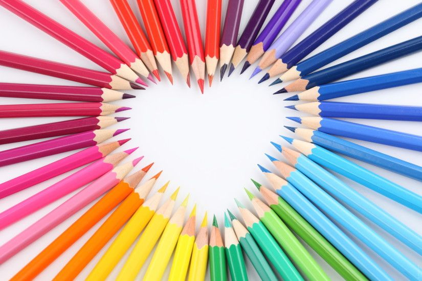 Pencil Crayon Wallpaper