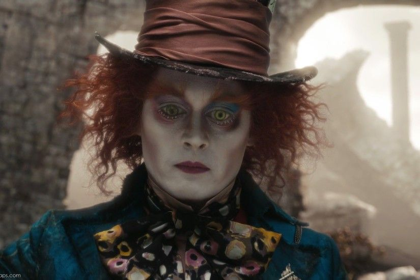 The Mad Hatter, Alive, Alice-disneyscreencaps.com-11106