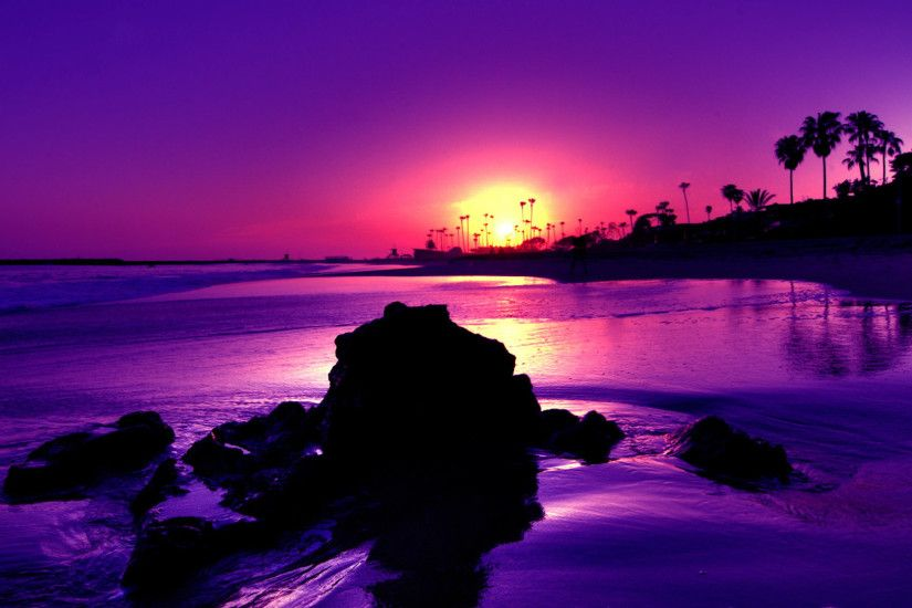 Beach Sunset Wallpaper 28808