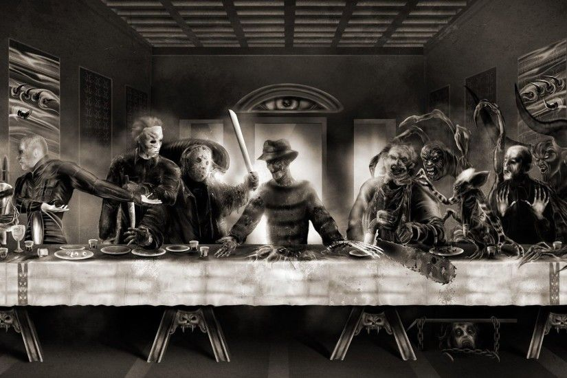 Horror Last Supper ...