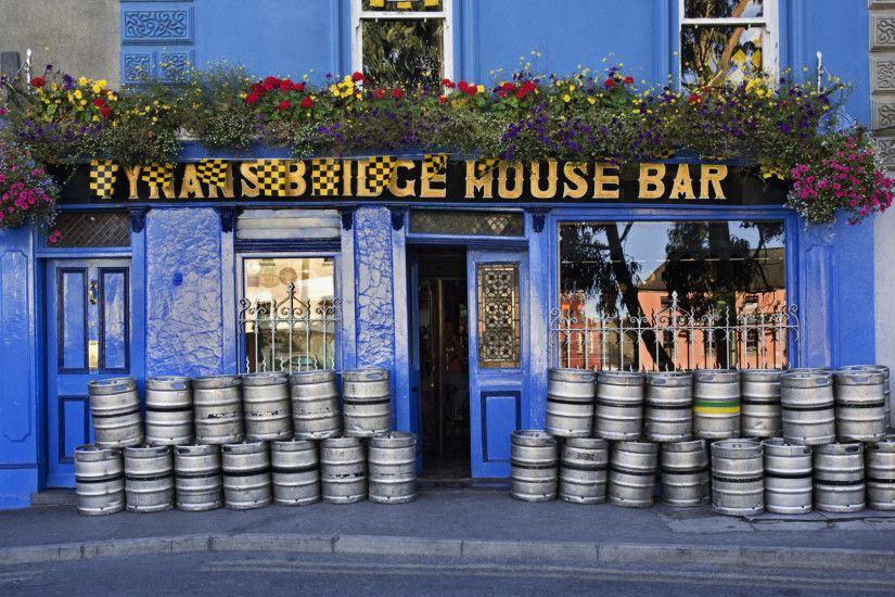 Pub in Kilkenny Ireland Widescreen Wallpaper 5944 1920x1080