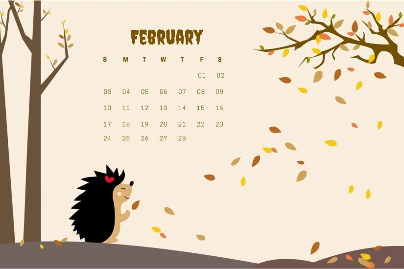 february 2019 amazing calendar wallpaper