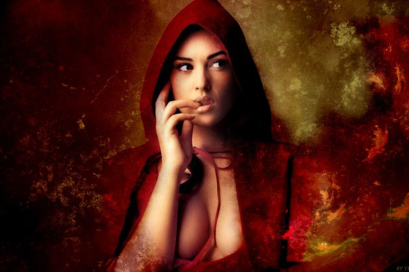 30 Red Riding Hood Hd Wallpapers Backgrounds Wallpaper Abyss