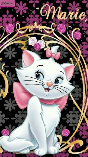 Marie Aristocats, Wallpapers, Cute Disney Wallpaper, Tweety, Emojis, Papo,  Bold Stripes, Animated Cartoons, Cute Kittens