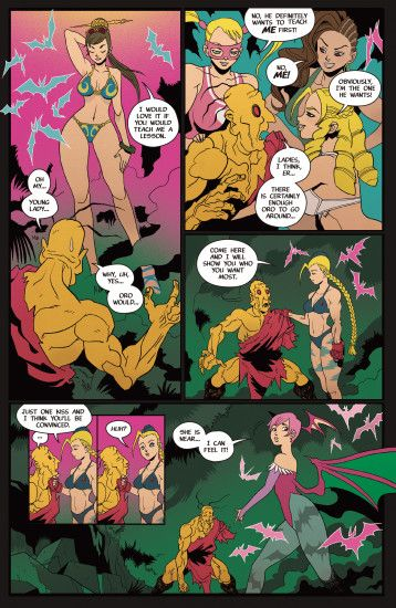 Street Fighter VS Darkstalkers Issue #2 - Read Street Fighter VS  Darkstalkers Issue #2