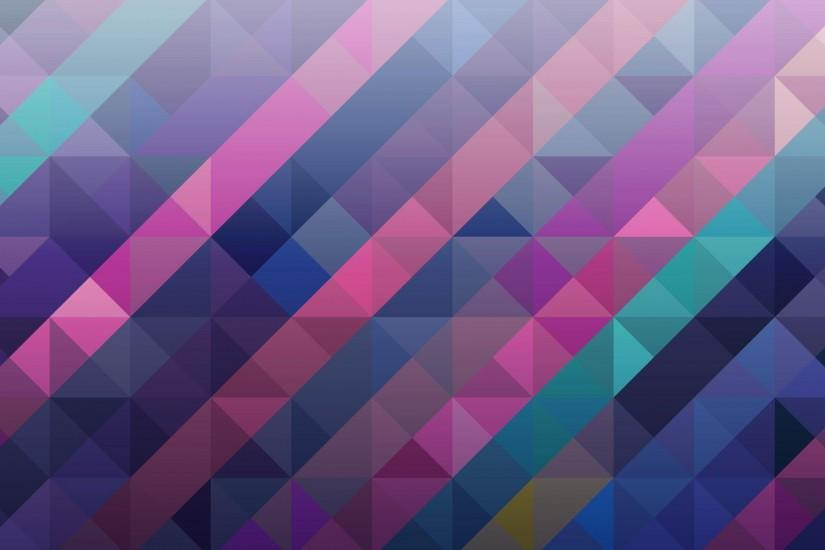 Perfect Purple Abstract Triangle Hd Wallpaper | Wallpaper List