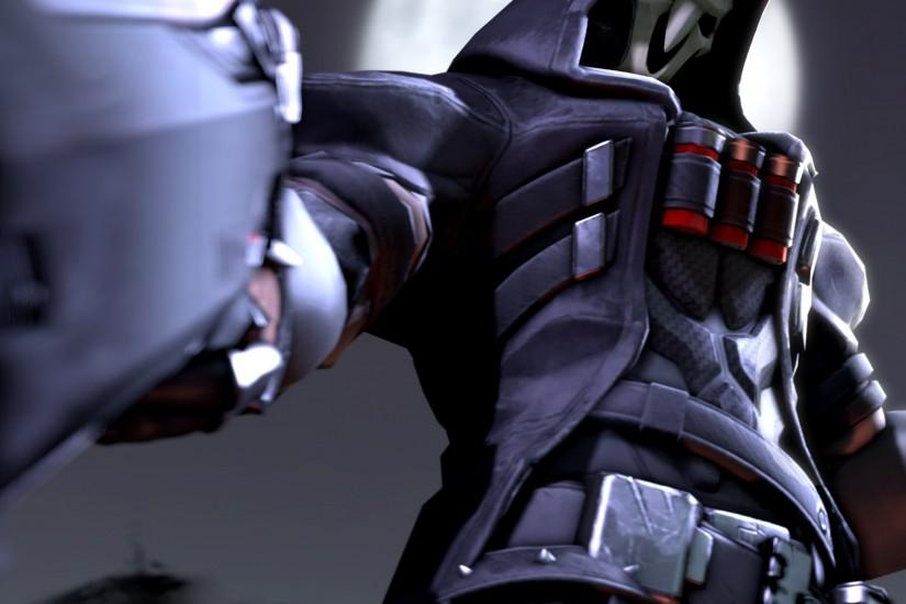 beautiful overwatch reaper wallpaper 3000x1080 for hd