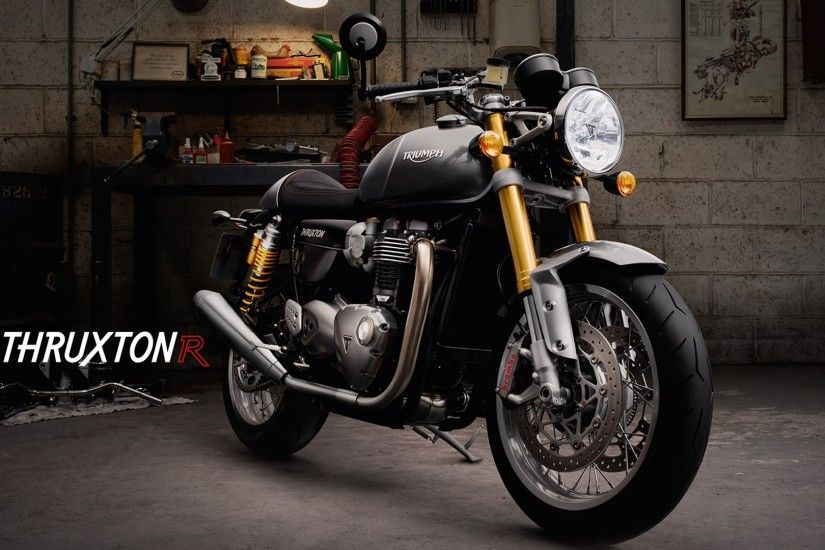 Triumph Thruxton R HD wallpaper