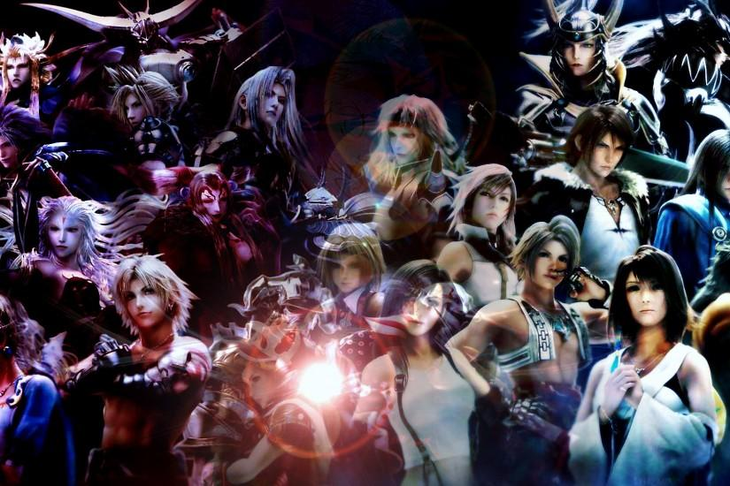 Final Fantasy X · 18 Fav Dissidia