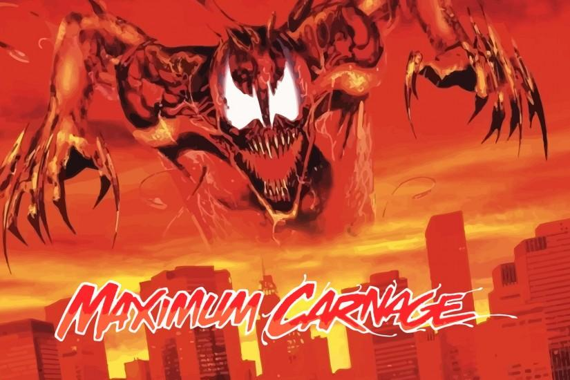 Maximum Carnage Official Poster Update by ProfessorAdagio on .