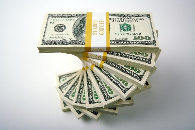 ... Awesome Stack Of 100 Dollar Bills Wallpaper Free download best Latest  3D HD desktop wallpapers background