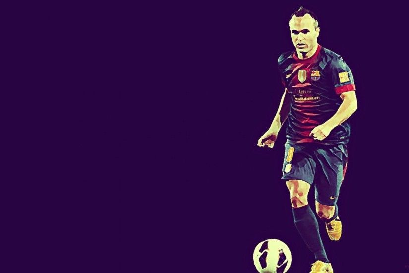Soccer Teams Player Football Iniesta Andres Stars Professionals