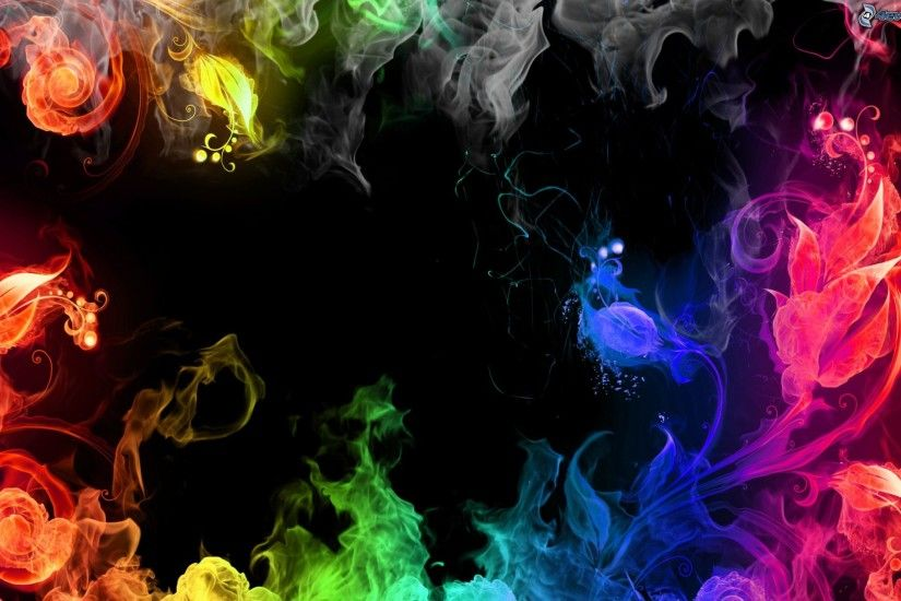 HD Quality Creative Colored Smoke Pictures