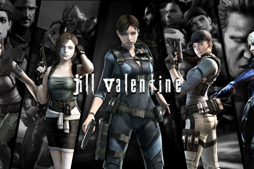 ... RE Anthology Wallpaper - Jill Valentine by NicolasNSane