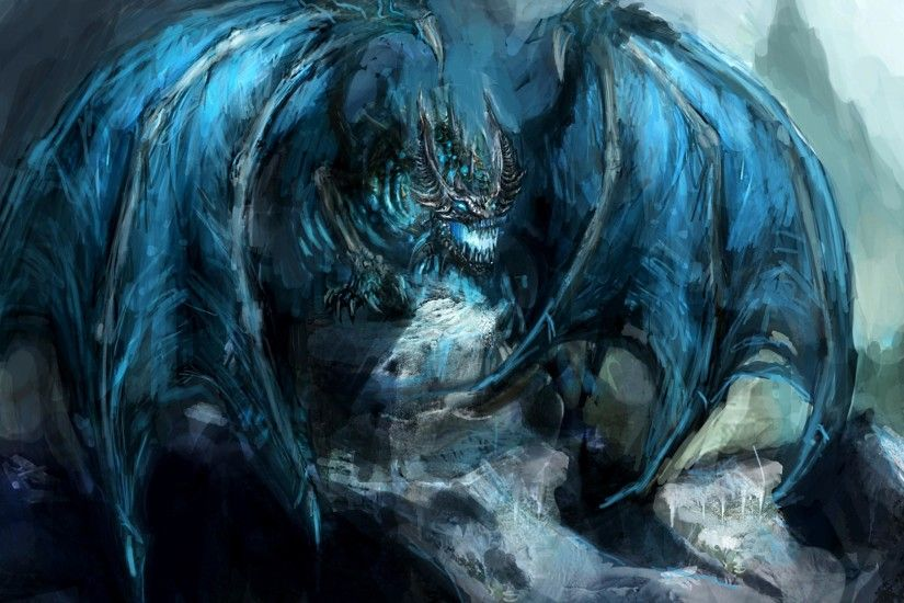 1920x1080 Wow Lich King Blue Dragon Wallpapers