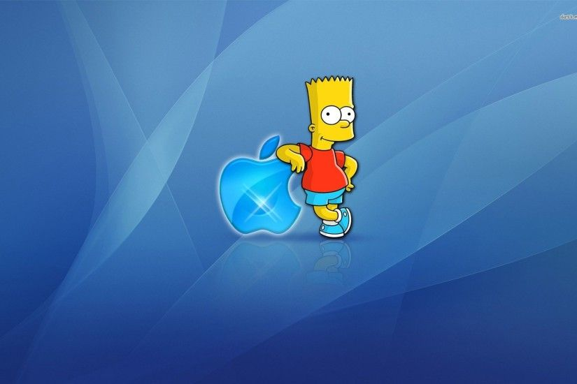 Homer Simpson Apple Wallpapers 1920x1200