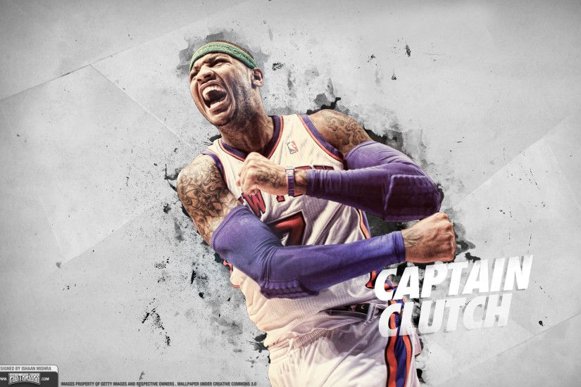 Wallpaper: Carmelo Anthony – 'Clutch'