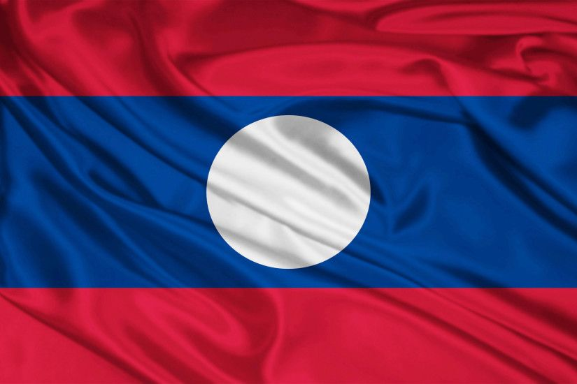 Laos Flag wallpapers and stock photos