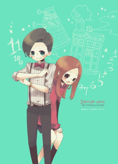 Tags: Anime, Pixiv Id 759831, Doctor Who, Eleventh Doctor, Amy Pond