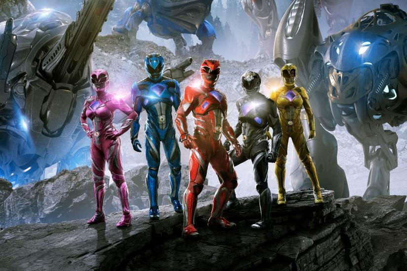 Power Rangers 2017 4K 8K