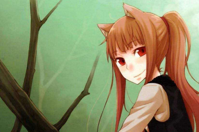 ... girl, smile, spice wolf