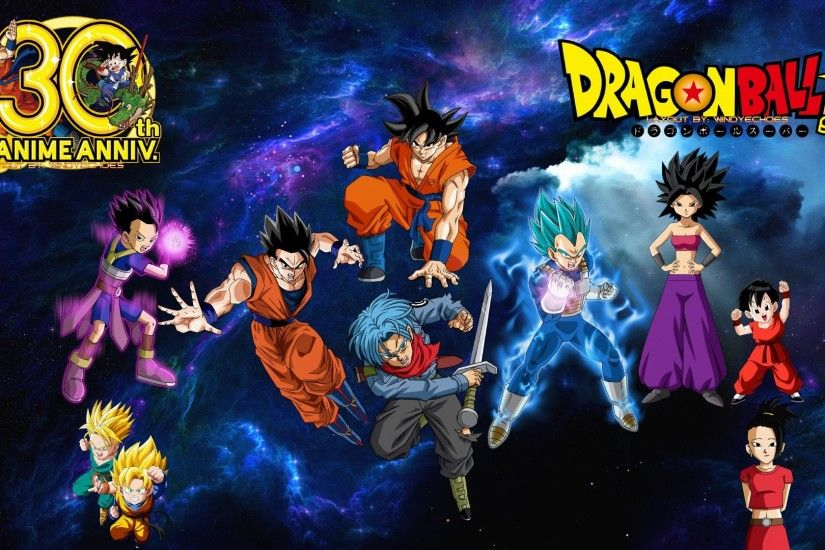 ... Dragon Ball Super - Saiyans Wallpaper by WindyEchoes