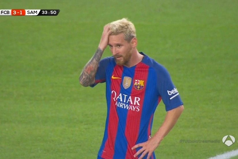 Lionel Messi vs Sampdoria (Gamper Trophy) Full HD 1080p 10/08/2016