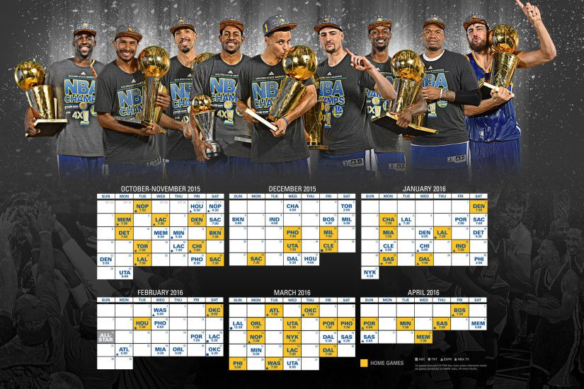 2015-16 Schedule - Wallpaper: 2560×1440 (Champions) | Warriors Artwork |  Pinterest | Golden state and Golden state warriors