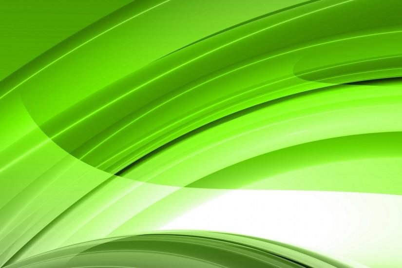Green Abstract Light Lines HD Wallpapers