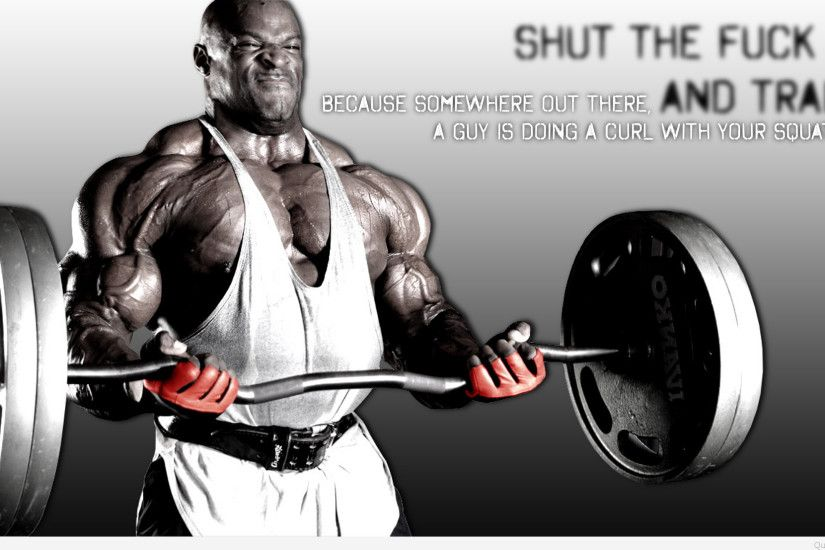 Train Bodybuilding Quote Wallpaper Motivation