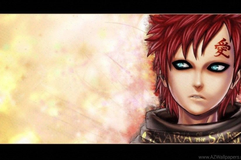 Gaara Wallpapers Naruto Wallpapers