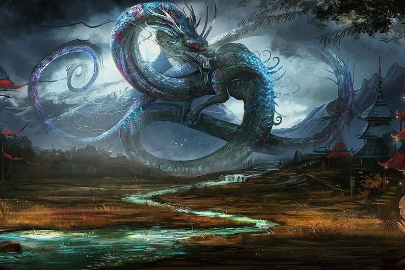 Fantasy Dragons Images Wallpaper 1920x1080 | Full HD Wallpapers .