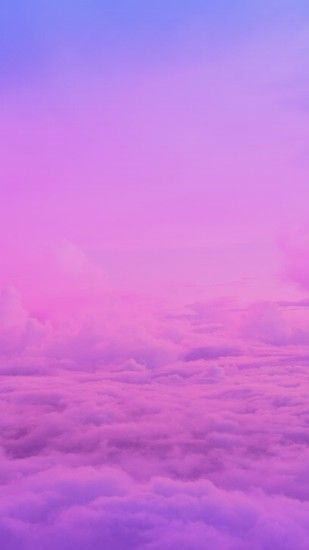 Original image not by me! I just made the ombré/gradient. Wallpaper,.  Iphone BackgroundsIphone WallpaperIphone 3Pink Purple AndroidCloudWallsScreenFunds
