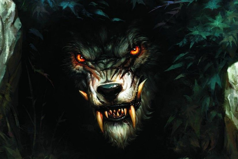 Scary Wolves Worgen World Of Warcraft Cataclysm