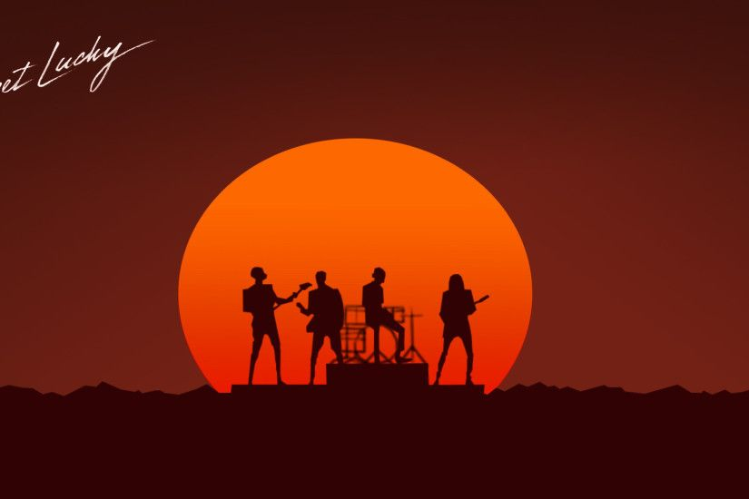 Daft Punk - Get Lucky wallpaper 1920x1080 jpg