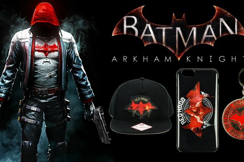 Batman Arkham Knight: Red Hood Merchandise!