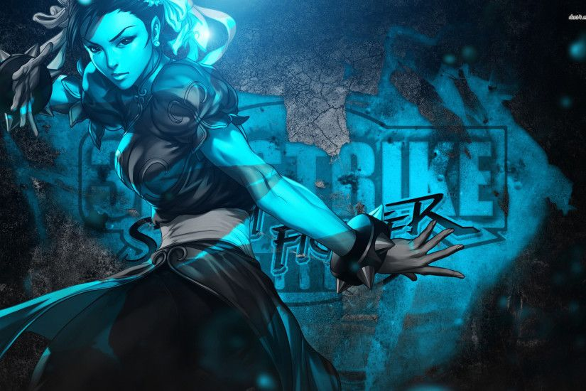 ... Chun-Li - Street Fighter III: 3rd Strike wallpaper 1920x1200 ...