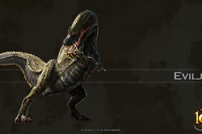 Image - MH 10th Anniversary-Deviljho Wallpaper 001.jpg | Monster Hunter  Wiki | FANDOM powered by Wikia