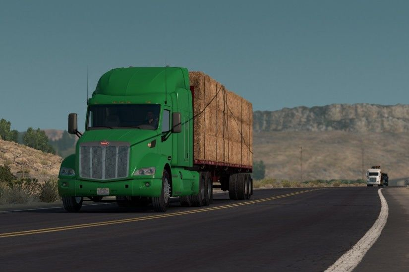 American Truck Simulator, ATS, Trucks, Peterbilt, Kenworth Wallpapers HD /  Desktop and Mobile Backgrounds