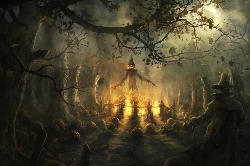 free halloween background 2560x1600 ipad retina