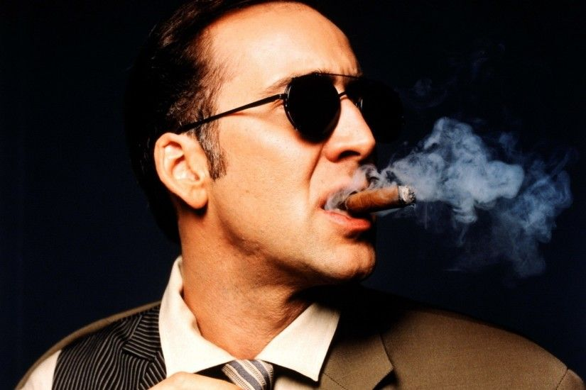 glasses nicolas cage cigars 1600x1200 wallpaper Art HD Wallpaper