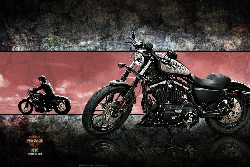 harley davidson wallpaper iron chopper. Â«Â«
